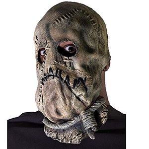 Scary Dark Knight Scarecrow Costume Mask